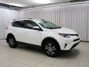 2017 Toyota RAV4 IT'S A MUST SEE!!! LE AWD SUV W/ ROOF RACK, BAC