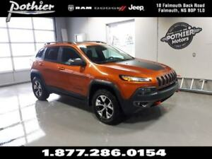 2015 Jeep Cherokee Trailhawk | LEATHER | HEATED SEATS | SUNROOF