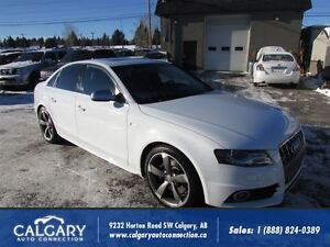 2012 Audi S4 3.0/SLINE/NAVIGATION/QUATTRO/REMOTE-START