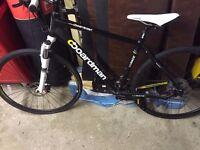 Boardman MX Race Hybrid Bike Suntour suspension, Avid Breaks, SRAM