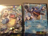 pokemon cards Blastoise ex's