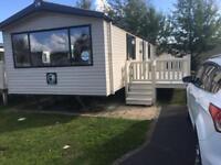 8 berth caravan for hire in kiln park tenby