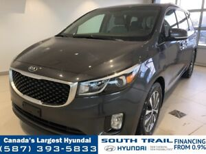 2017 Kia Sedona SX+ - LEATHER, HEATED SEATS + WHEEL