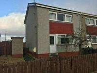2 Bedroom end terraced house to rent in Shotts
