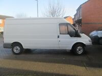 VAN AND MAN AVAILABLE SUNDAY , DUE TO LAST MINUTE CANCELLATION £15 PER HOUR