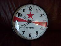 Large Retro, Unique Newgate Wall Clock - Excellent Condition