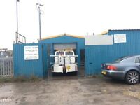 Industrial property - land with 2 workshops for sale in Queenborough, Kent