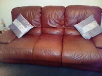 2 & 3 seater reclining sofa