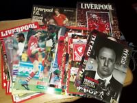 LIVERPOOL VINTAGE PROGRAMMES, BOOKS AND POSTERS