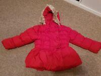 Next girls coat size 3-4