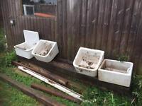 Butler Sinks x 4