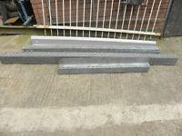 galvanised steel lintels