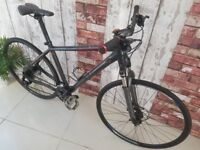 Cube Nature Pro. RRP £750 19 Inch Hybrid Bike. Hydraulic Brakes. Excellent Condition.