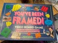 You've Been Framed VHS Board Game 1994