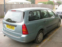 Ford Focus 1.8 LX Estate for spares