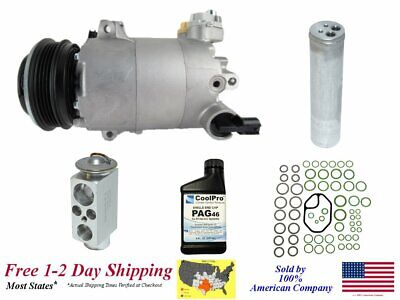 New A/C AC Compressor Kit For 2015-2016 Lincoln MKC (2.0L, 2.3L)