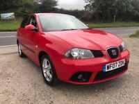 SEAT IBIZA REFERENCE SPORT 1.4 TDI 5DR RED 2007