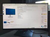 Dell UltraSharp U2414H 23.8 inch Widescreen IPS LCD Monitor - USED Like New