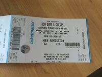 Bon Iver Tickets (x2) (Available as a pair or individually)- Forbidden Fruits - Dublin 05/06/17