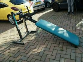 Sit up bench adjustable can deliver locally