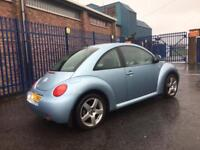 2003 VOLKSWAGEN BEETLE 1.6 ONLY 67.000 MILES FULL SERVICE HISTORY MOTD TO APRIL DRIVES LIKE NEW!