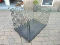 Jumbo dog crate