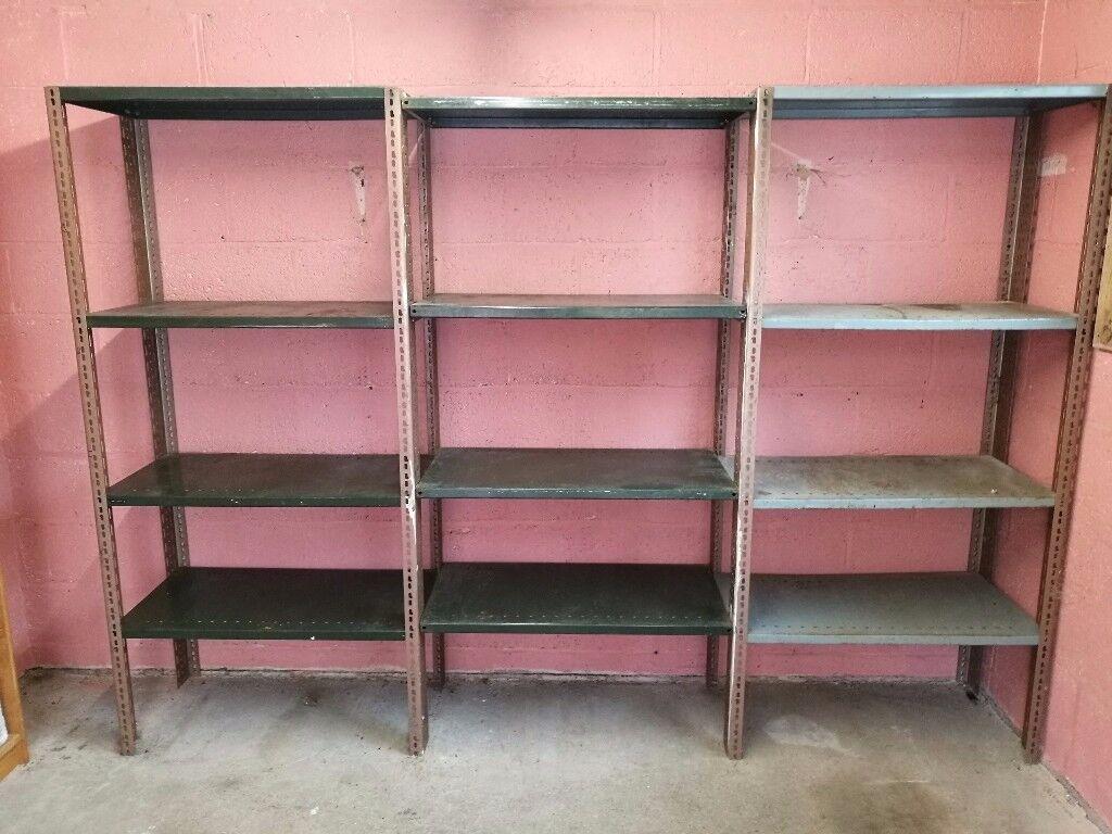 HD Steel Shelving ideal for garage or workshop