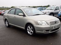 2005 Toyota avensis 2.2 d4d only 84000 miles, motd until oct 2016 all cards welcome