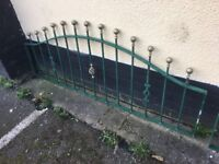 12 Ft Of Quality Galvanised Steel Wall Toppers / Railings / Fencing- DELIVERY OR COLLECTION