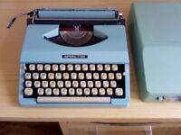 Imperial 200 manual portable typewriter.