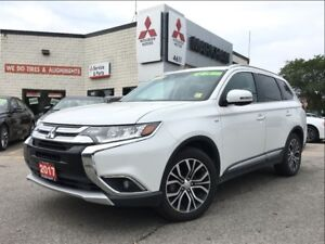 2017 Mitsubishi Outlander GT S-AWC (18 ALLOYS! BACK UP CAM! SUNR