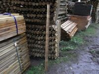 Fence Post 50mm-75mmx5.6ft