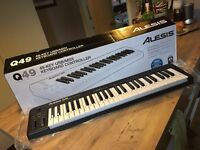 Electronic keyboard - Alesis Q49 FOR SALE £35 ONO
