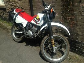 Here is my classic Honda 125xlr. Mint condition only 04167 on the clock