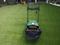 Electric lawn rake / scarifier