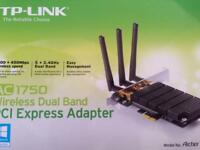 TP-LINK 1750 wireless dial band PCI ExpressVPN adapter