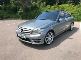 Mercedes-Benz C Class 3.0 C350 CDI BlueEFFICIENCY AMG Sport 7G-Tronic 4Dr Saloon, Panoramic Sunroof