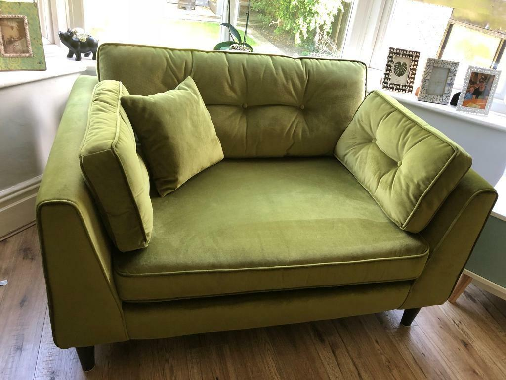 available separately sofology cricket sofa loveseat in lavish emerald green mix in worsley. Black Bedroom Furniture Sets. Home Design Ideas