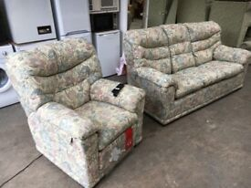 G PLAN ELECTRIC RECLINER ARMCHAIR & SOFA ~~ HARDLY USED!! ~~ CAN DELIVER TO WEST MIDLANDS