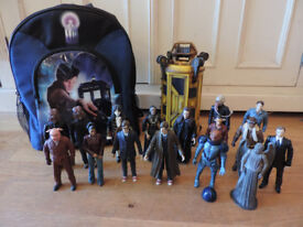 Doctor Who Bundle, 16 Action Figures, The Satan Pit & A Bag