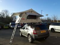 Ventura Deluxe 1.4 Car Roof Tent 2-3 Person Camping Expedition Overland 4x4 VW Land Rover RRP£1600