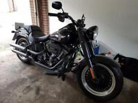 Harley fat boy s open to offers