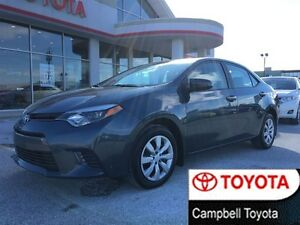 2015 Toyota Corolla LE  8 TO CHOOSE FROM-- LOW KM'S
