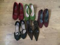 Various shoes all to fit size 6