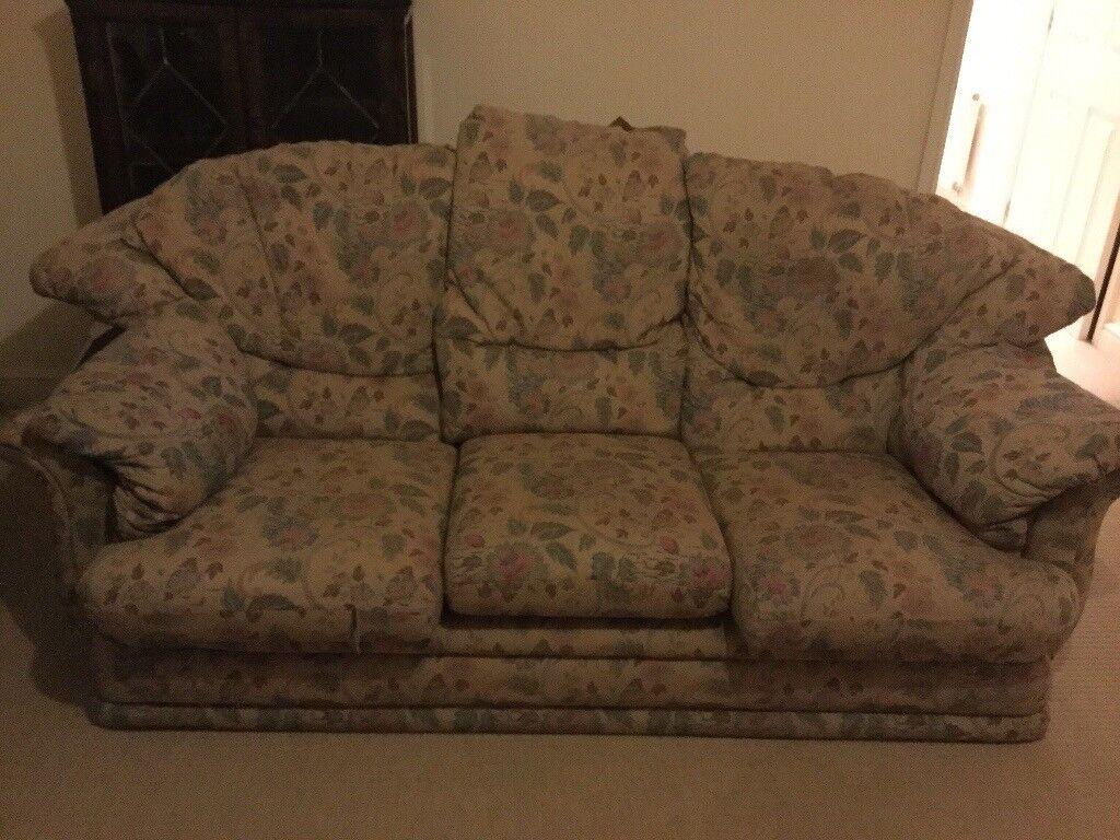 3-seater sofa FREE!