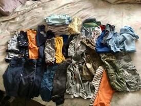 Boys clothes bundle, age 9-12 months. Over 40 items