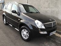 Stunning 2005 05 Ssangyong Rexton Rx270 Se5 Auto 4x4 **2 Owners+History+Full Leather+Mega Spec**