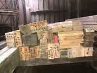 Re/claimed denailed wood