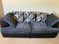 3 seater scatter pack sofa hardly used. Like new