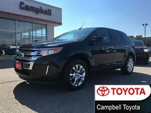 2011 Ford Edge SEL NAV ROOF CHROMES LOW KMS LEATHER